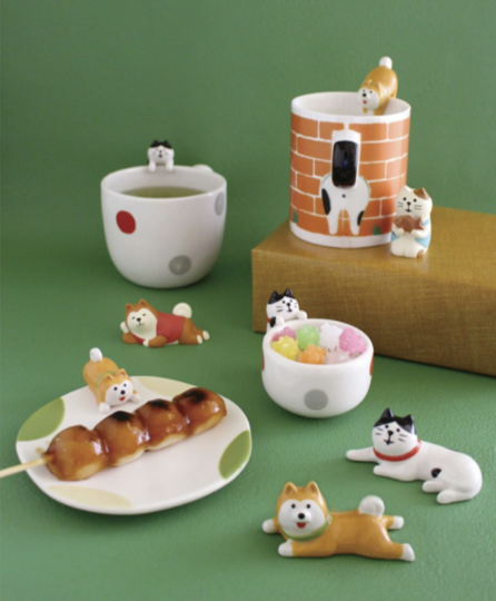DECOLE Tableware Shiba Inu Dog Spoon - Hamee Strapya World