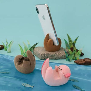 DECOLE Rare Animal Smartphone Stand (Axolotl) - Hamee Strapya World