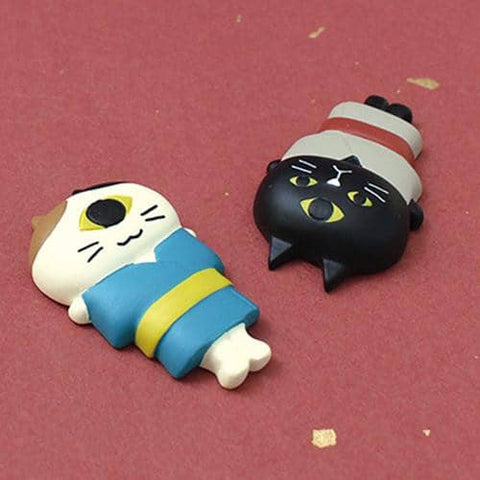 DECOLE Urameshi Nyanko Cat Magnet (1 & 3) - Hamee Strapya World