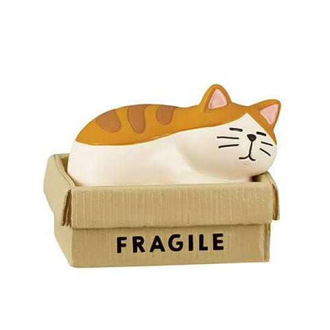 DECOLE HAPPY cat day Accessory Case (Cardboard Box) - Hamee Strapya World