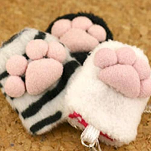 Animal Paw Finger Sack Phone Screen Cleaner Strap - Hamee Strapya World