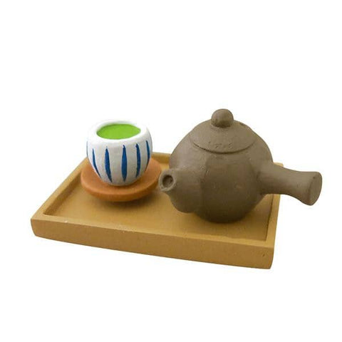 DECOLE Concombre Figures - Moon Viewing (Green Tea Set) - Hamee Strapya World