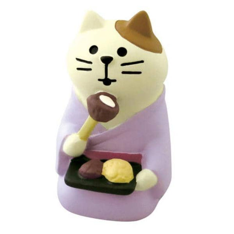 DECOLE Concombre Figures - Moon Viewing (Ohagi Cat) - Hamee Strapya World