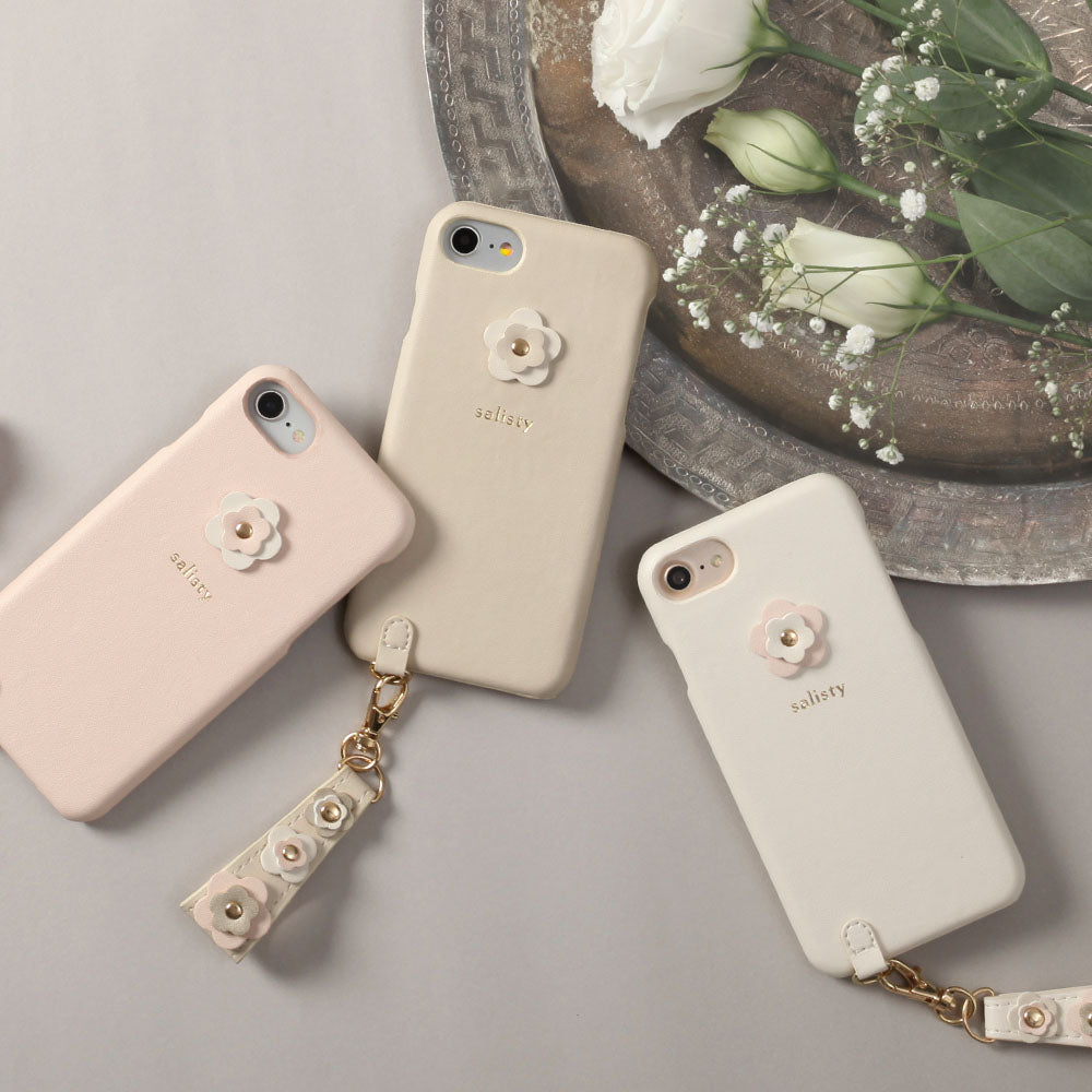 salisty P Flower Studs Hard Phone Case - Hamee Strapya World