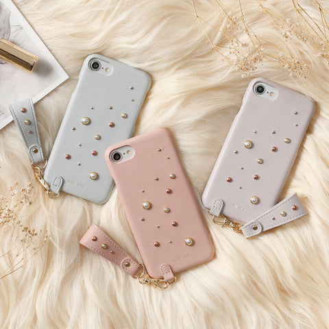 salisty P Pearl Studs Hard Case - Hamee Strapya World