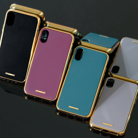 salisty Q Impact Resistant Hard Phone Case for iPhone XS/X