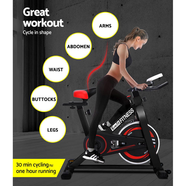 Spin Exercise Bike - Simplistic Nutrition and Health
