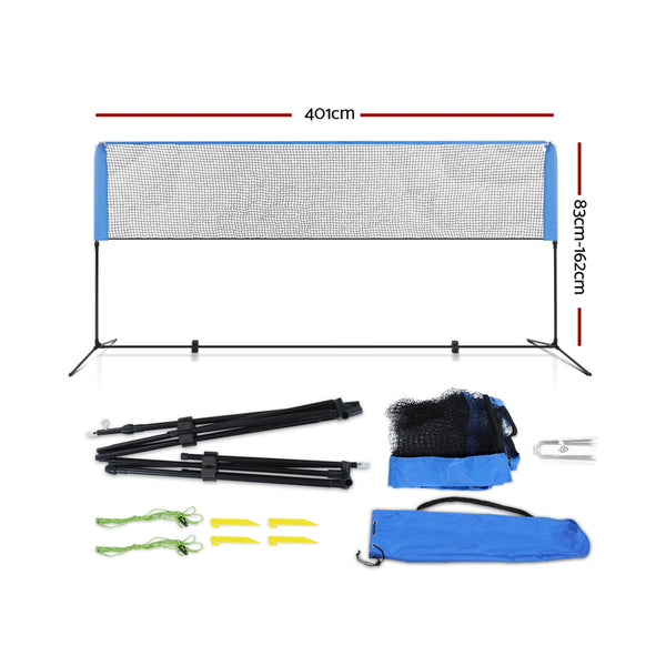Portable Sports Net Stand Badminton/Volleyball/Tennis/Soccer - Simplistic Nutrition and Health