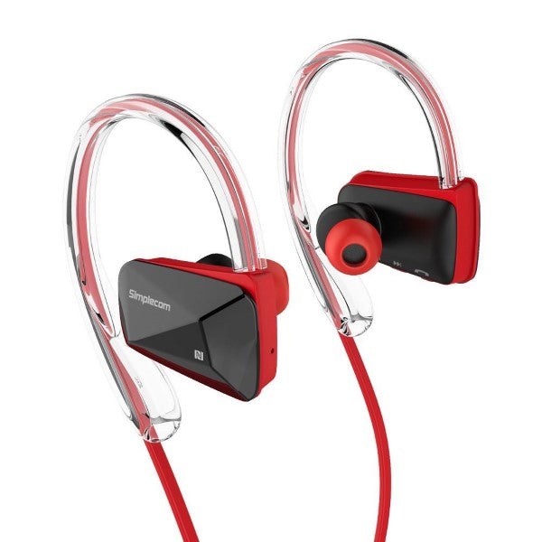 Simplecom NS200 Bluetooth Neckband Sports Headphones - Simplistic Nutrition and Health
