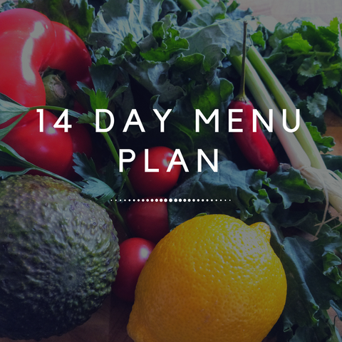 14 Day Menu Plan - Simplistic Nutrition and Health
