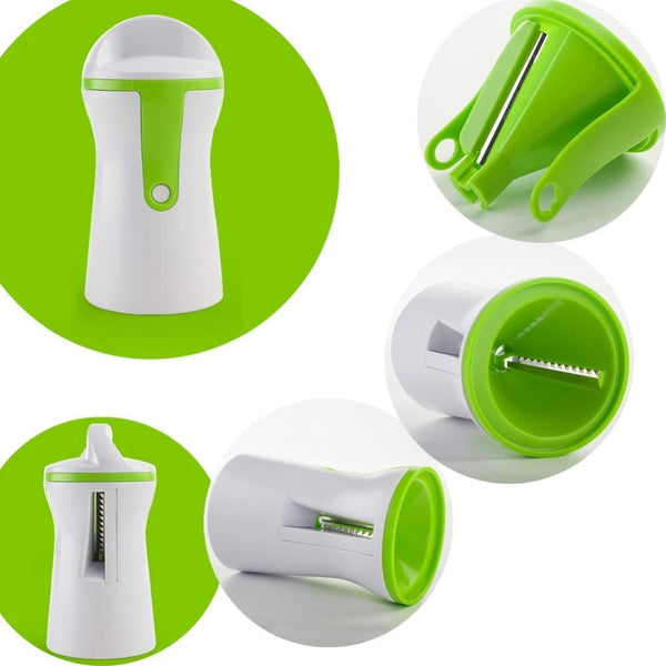 Handheld Vegetable Spiralizer - Simplistic Nutrition and Health
