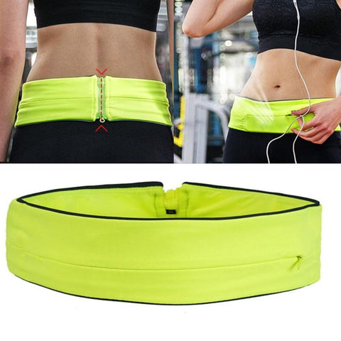 Running Waist Belt for keys/card/phone - Simplistic Nutrition and Health