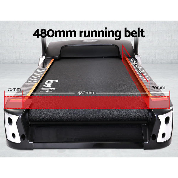 Running Treadmill with 48cm Belt - 3.5HP - Simplistic Nutrition and Health