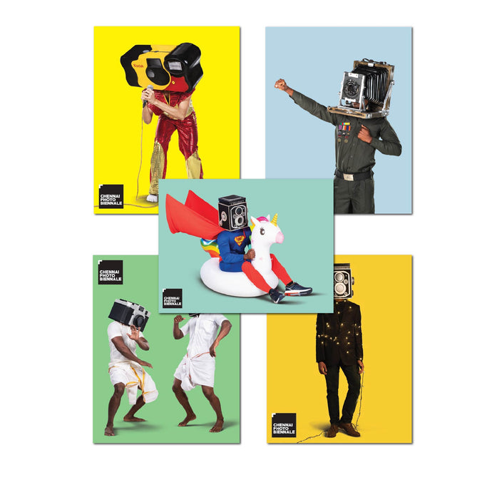 Foto Camera Kantam | Set of 5 magnets