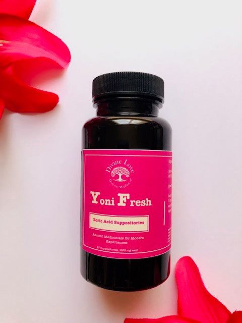 Yoni Fresh Boric Acid Suppositories