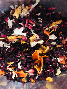 Hibiscus Ginger Orange Herbal Tea