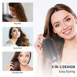 Multi-functional 2 in 1 Hair Brush & Dryer