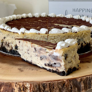 Cookie 'n Cream Cheesecake