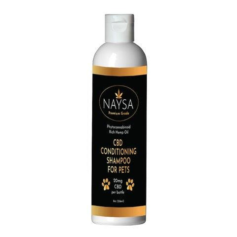 NAYSA CBD Conditioning Shampoo for Pets | 20 mg. CBD