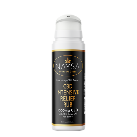 NAYSA Intensive Relief Rub With Emu Oil