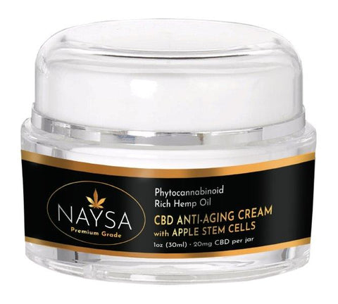 NAYSA CBD Anti-Aging Cream with Apple Stem Cells | 20 mg.