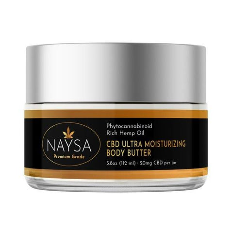 NAYSA CBD Ultra Moisturizing Body Butter | 20 mg. CBD