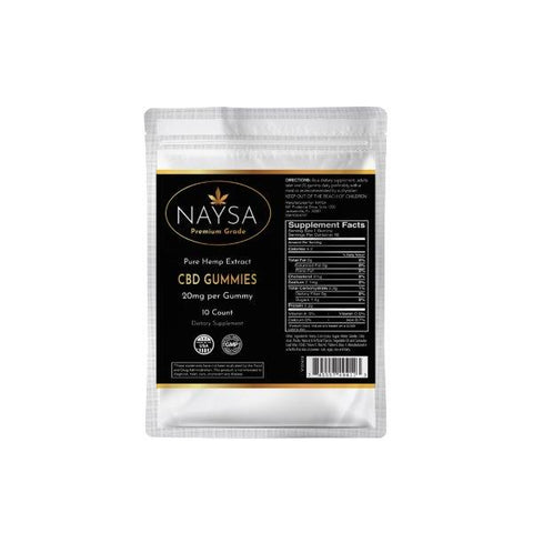 NAYSA CBD Gummies | 10 ct.