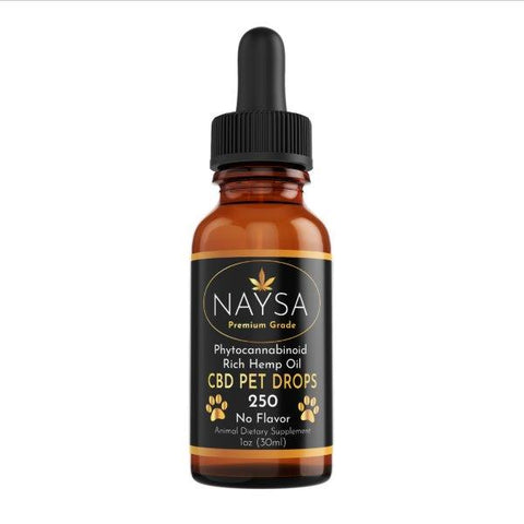 NAYSA CBD Drops for Pets | 1 oz. | 250 mg. CBD