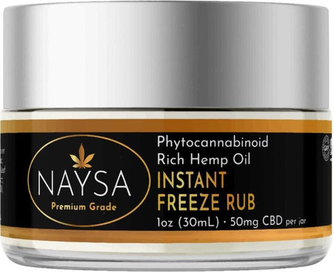 NAYSA Instant Freeze CBD Rub | 1 oz.