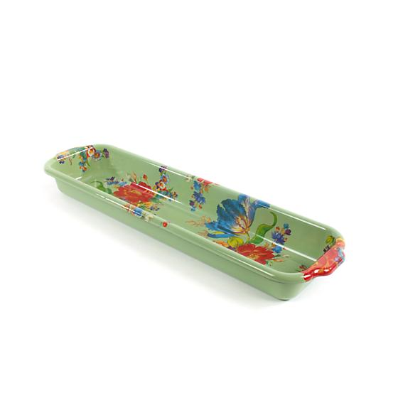 MacKenzie-Childs Flower Market Baguette Dish - Green