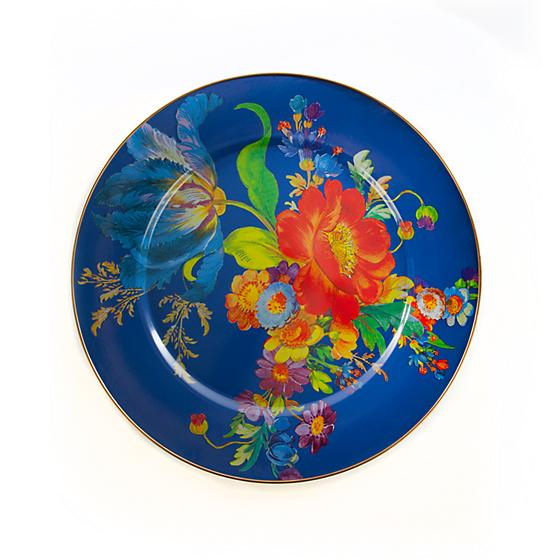 MacKenzie-Childs Flower Market Serving Platter - Lapis