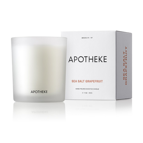 Apotheke Sea Salt Grapefruit Candle