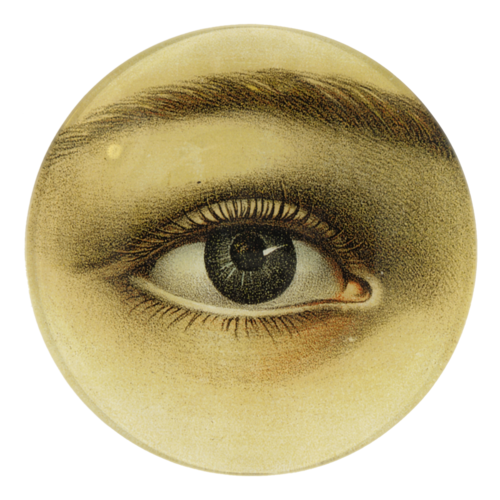 John Derian Eye Bowl (Convex Right)