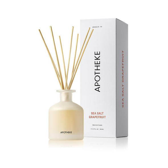 Apotheke Sea Salt Grapefruit Reed Diffuser