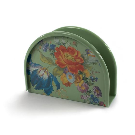 MacKenzie-Childs Flower Market Napkin Holder - Green