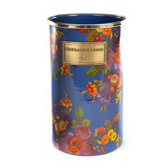 MacKenzie-Childs Flower Market Utensil Holder - Lapis