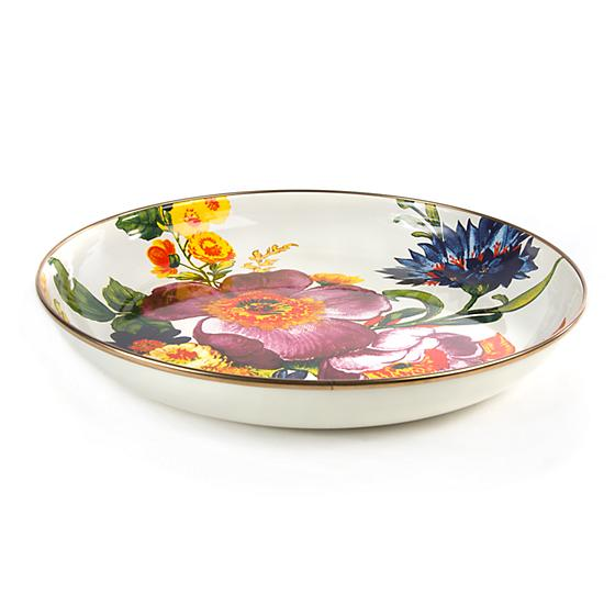 MacKenzie-Childs Flower Market Abundant Bowl - white