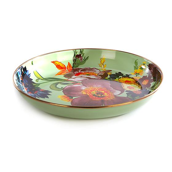 MacKenzie-Childs Flower Market Abundant Bowl - Green