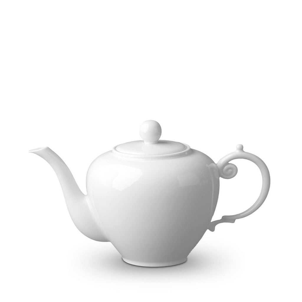 L'Objet Aegean White Tea Pot