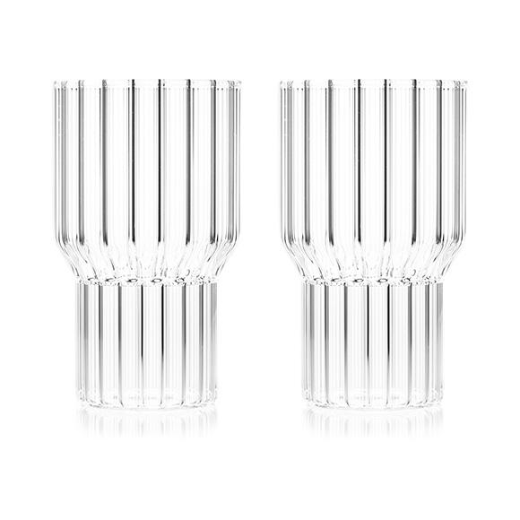 Architectural Glassware Boyd Large Glass- Set of 2