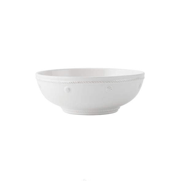 "Juliska Berry & Thread Whitewash 7.75"" Coupe Pasta Bowl"
