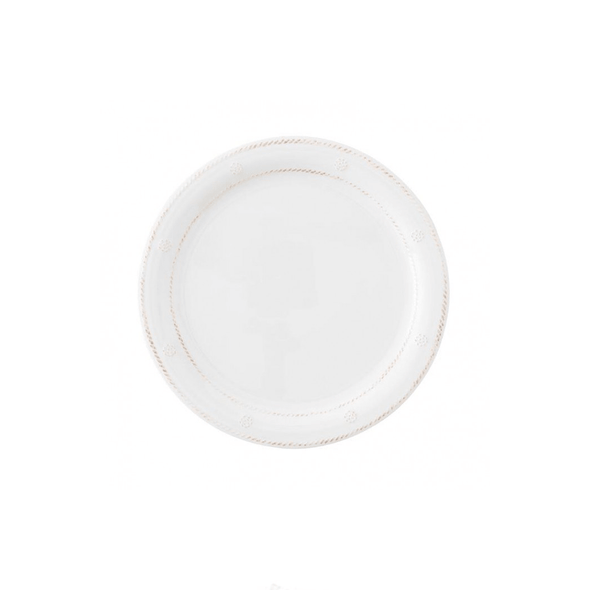 Juliska Berry & Thread Melamine Whitewash Dinner Plate