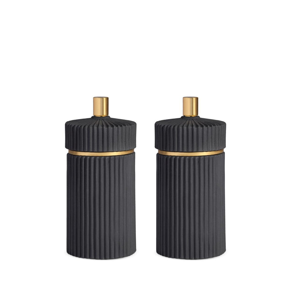 L'Objet Ionic Salt + Pepper Mills - Set of 2