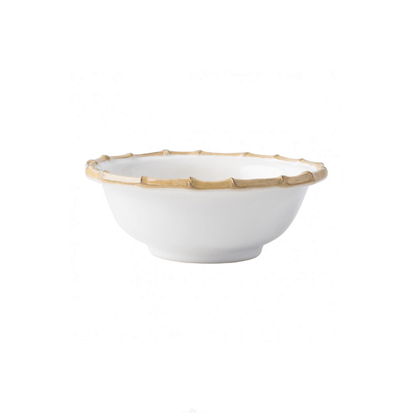 Juliska Classic Bamboo Natural Cereal/Ice Cream Bowl