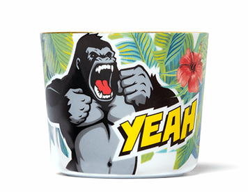 Comic Cups Marvellous Monkey Champagne Goblet
