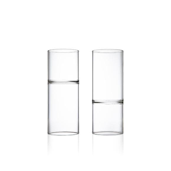 Architectural Glassware Revolution Wine & Water Glass- Set of 2