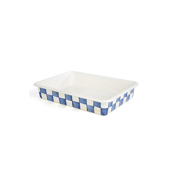 "MacKenzie-Childs Royal Check Baking Pan - 9"" x 13"""