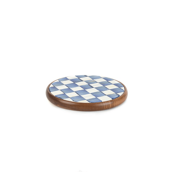 MacKenzie-Childs Royal Check Trivet