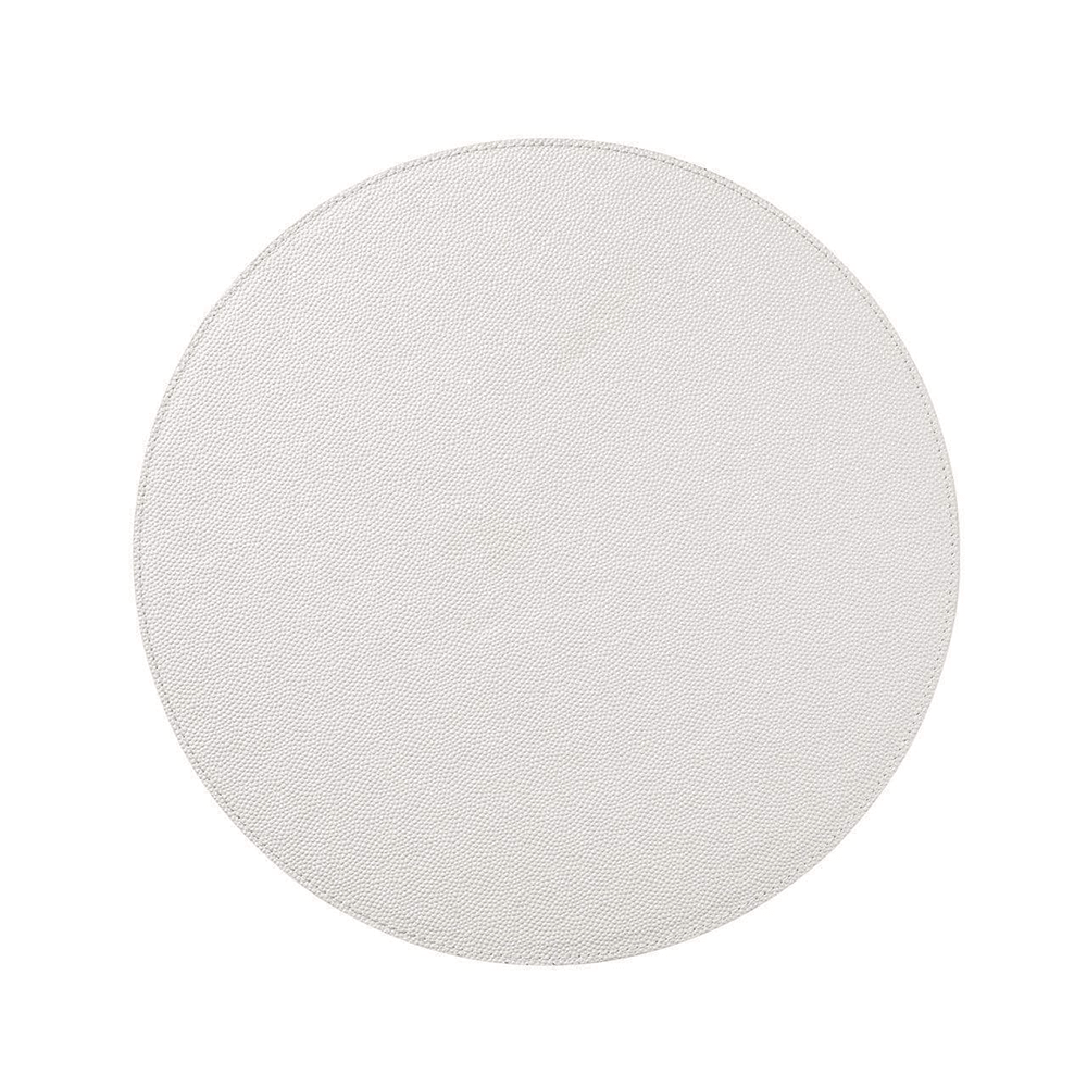 Kim Seybert Shagreen Placemat in Pearl- Set of 4