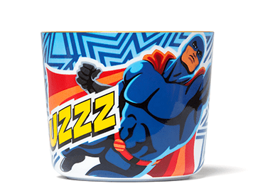 Comic Cups Star Man Champagne Goblet